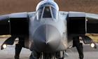 An RAF Tornado aircraft at RAF Lossiemouth