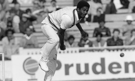 Never in my life had I faced a bowler as swift as Michael Holding