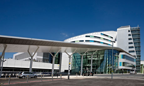 The new £545m Queen Elizabeth Hospital, part of University Hospitals