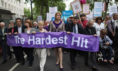 Hardest Hit March Protest