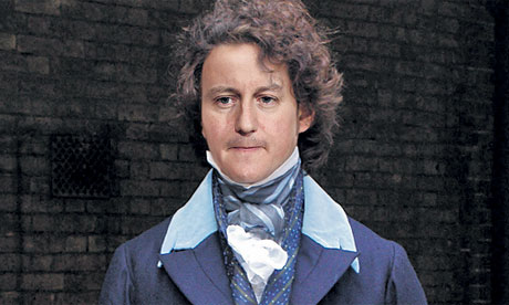 David Cameron as Flashman