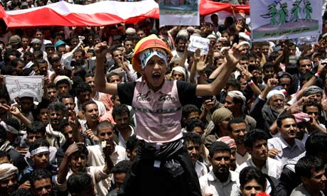 yemen youth revolution saleh