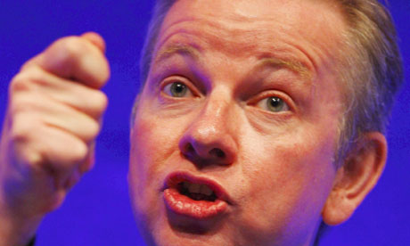 The education secretary, Michael Gove