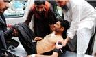 Suicide bombers attack Charsadda, Peshawar, Pakistan - 13 May 2011