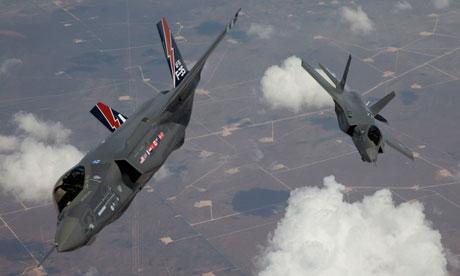 US Joint Strike Fighter jets