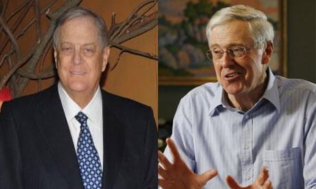 Koch company declared 39 substantial interest 39 in keystone for David und charles koch