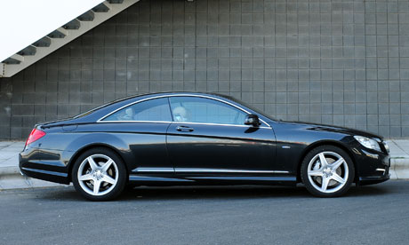 on the road mercedes benz cl500 technology the guardian. Black Bedroom Furniture Sets. Home Design Ideas