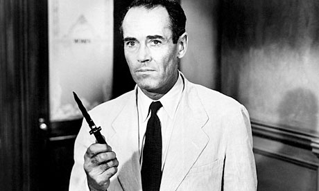 12 angry men by henry fonda Henry fonda, actor: 12 angry men henry jaynes fonda was born in grand island, nebraska, to elma herberta (jaynes) and william brace fonda, who worked in advertising and printing his recent ancestry included dutch, english, and scottish fonda started his acting debut with the omaha community playhouse, a local amateur theater troupe directed by dorothy brando.