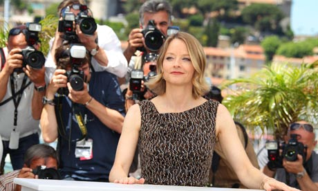 The Beaver's director and star Jodie Foster at Cannes 2011.