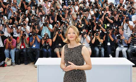 Jodie Foster at the photocall for The Beaver