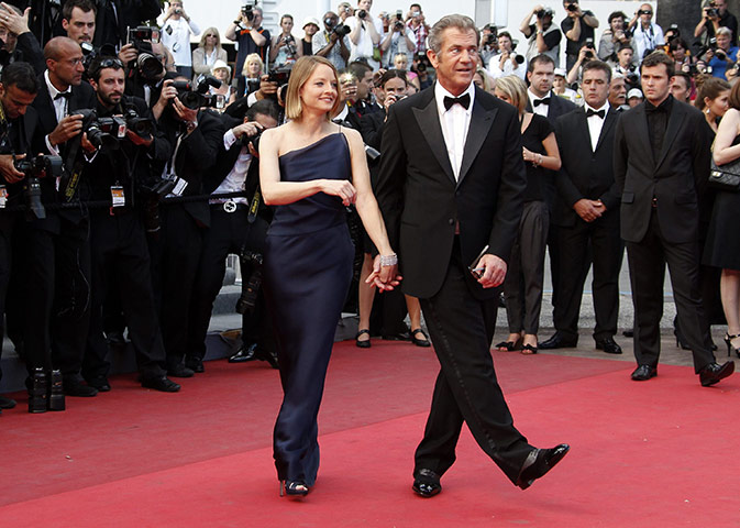 mel gibson cannes. Jodie Foster and Mel Gibson