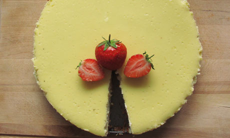 How to cook perfect cheesecake   Life and style   The Guardian
