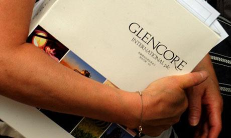 Glencore prospectus