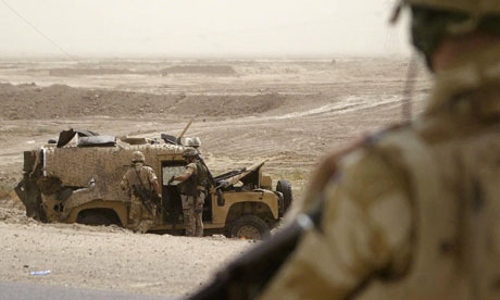 The Snatch Land Rovers sent to Iraq and Afghanistan with British troops despite their light armour