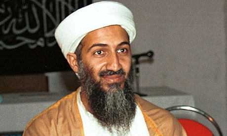 after Osama in Laden in. Osama bin Laden was killed by