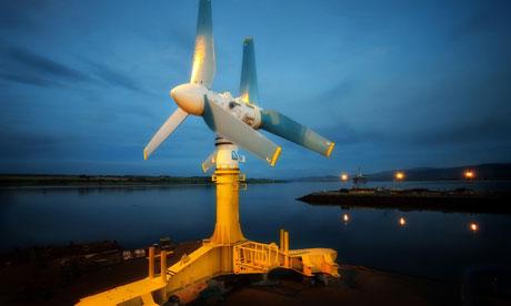 Energía de las mareas y las olas de Gran Bretaña podría ser un valor de £ 76bn en 2050, según el Carbon Trust