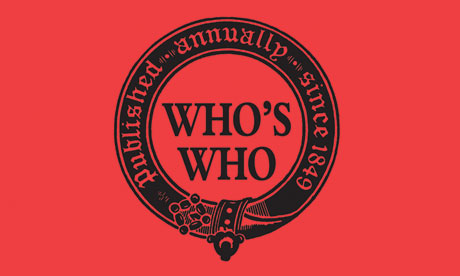 Who's Who 2011 book cover