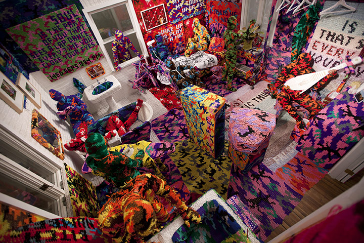 Knitting Jobs London : Crafting a crochet world in pictures art and design