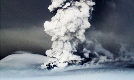 Iceland's Grimsvotn volcano - UK airlines and airports have been warned to expect ash