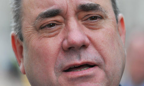 Alex Salmond will be making the case for increased economic powers for Holyrood