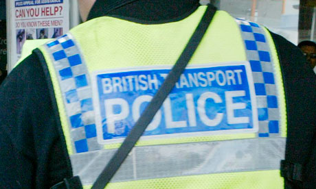 Armed British Transport police officers will patrol main railway and London Underground stations