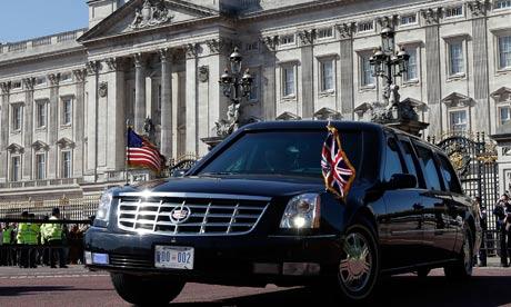 Barack Obama's Cadillac