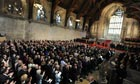 Obama addresses Westminster Hall