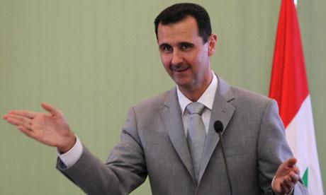 Syria's President al-Assad