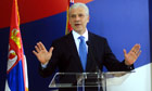 Boris Tadic, the Serbian president, has set Serbia on the road to EU membership