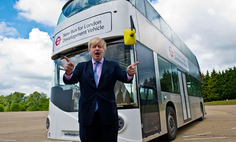 Boris Johnson  and Routemaster