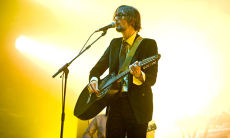 Jarvis Cocker performs in Barcelona