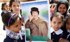 Libyan schoolchildren
