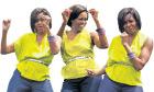 Michelle Obama dances