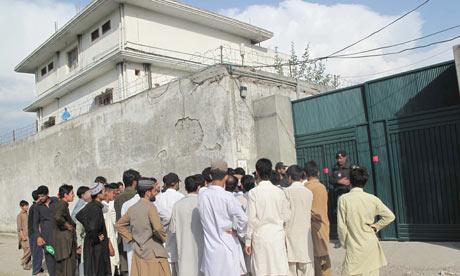 compound where bin Laden. Osama in Laden#39;s compound in