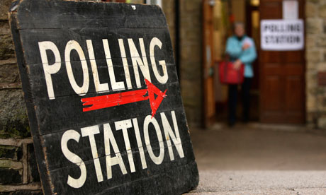 Local elections and AV polls opened this morning