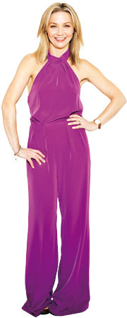 Jess Cartner-Morley in 70s suit