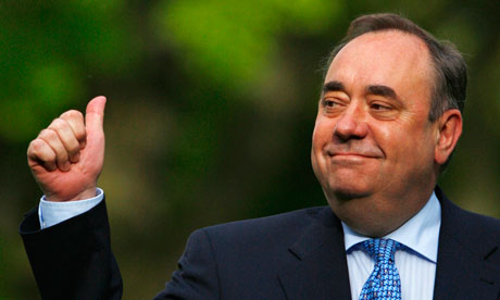 Alex Salmond, the Scottish first minister