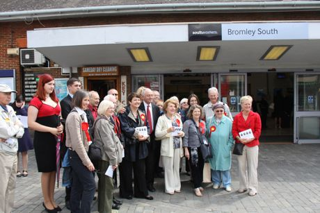 Ken Livingstone in Bromley 31/5/2011