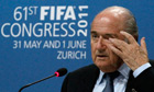 FIFA president Blatter