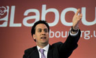 Leader of the British Labour Party, Ed Miliband holds a press conference on the upcoming referendum