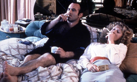 Bob Hoskins and Helen Mirren in The Long Good Friday