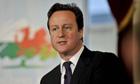 Cameron visits Wales