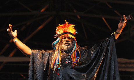 'Space is this big': George Clinton.