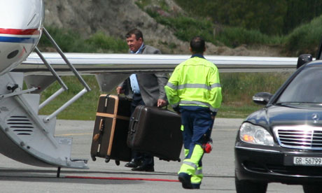 Baggage at Bilderberg 2011