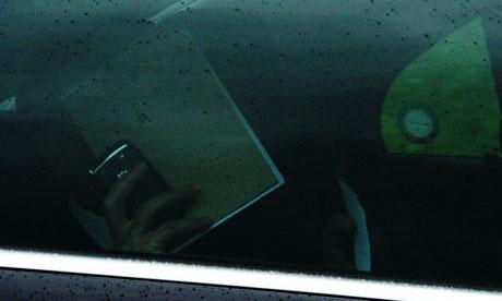 Hiding delegate at Bilderberg 2011