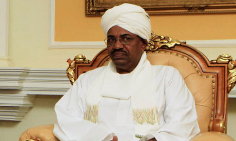 Sudanese leader, Omar al-Bashir, is scheduled to visit China later this month (Photo Courtesy of The Guardian).
