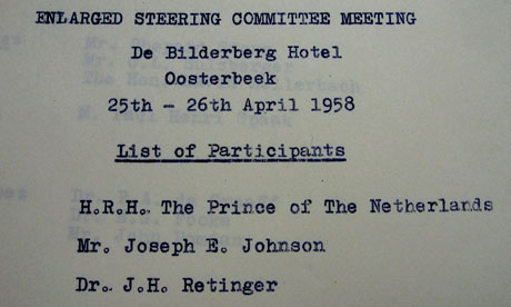 Bilderberg steering group