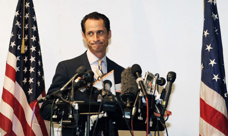 Anthony Weiner announces his resignation