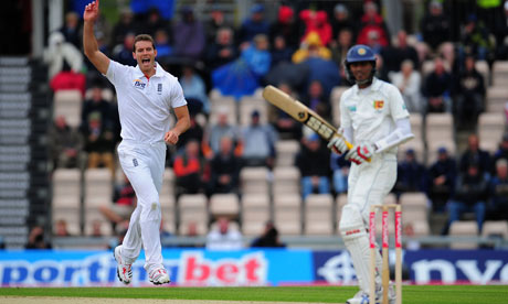 England v Sri Lanka: 3rd npower Test - Day Two