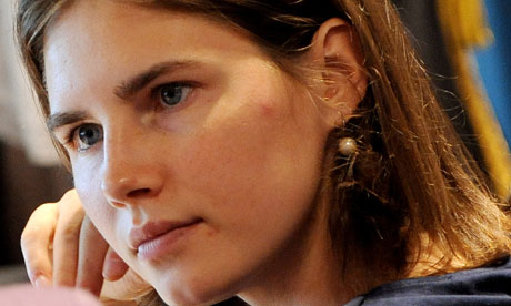 amanda knox pictures. Amanda Knox sits in court to